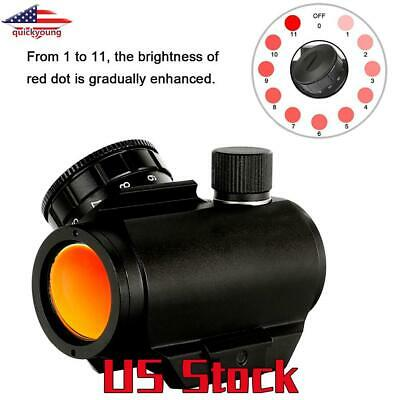 Holographic Tactical Red Dot Sight Hunting Airsoft Air Rifle Spotting Scope US