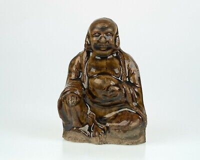 Antique Chinese porcelain pottery Buddha figure
