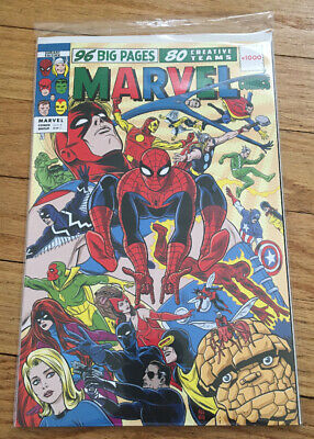 Marvel Comics #1000 Allred 60's Variant NM Spider-Man Avengers