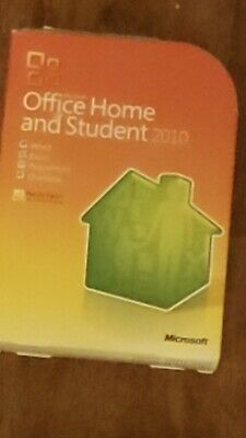 Microsoft Office Home Student 2010 Product Key & Booklet Family Pack Authentic