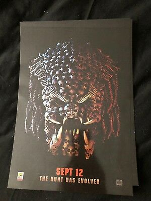 Predator ODEON A4 Glossy Poster - Comic Con International 2018 Exclusive