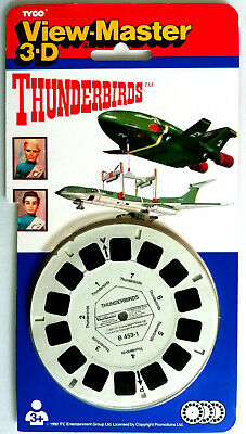 3x VIEW MASTER REEL / THUNDERBIRDS / GERRY ANDERSON / UFO / TYCO PACK B 453.23