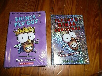BRAND NEW Lot of 16 FLY GUY early Readers Tedd Arnold CHRISTMAS picture books
