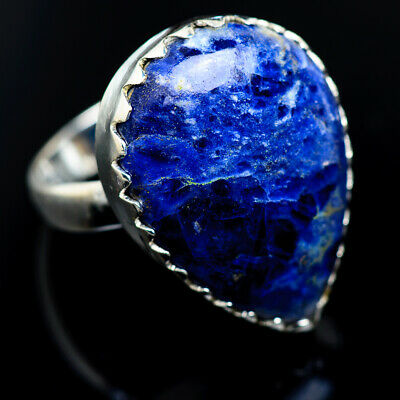Large Sodalite 925 Sterling Silver Ring Size 8.25 Ana Co Jewelry R966078