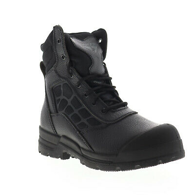 Condor 8 Steel Toe Work Boot 168005 Mens Black Leather Safety Boots Shoes