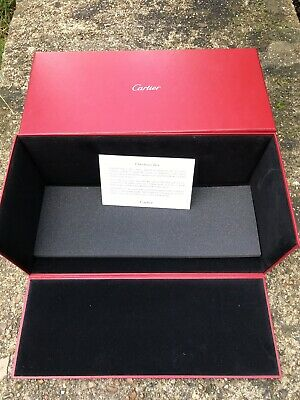 Cartier Authentic Sturdy empty cardboard box from baubles