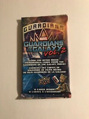 2017 Upper Deck Guardians Of The Galaxy Vol 2 Guaranteed Costume Relic Hot Pack