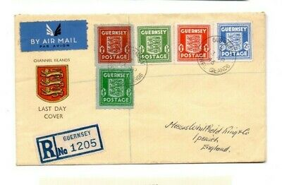 A very nice Guernsey 1946 Last Day Cover