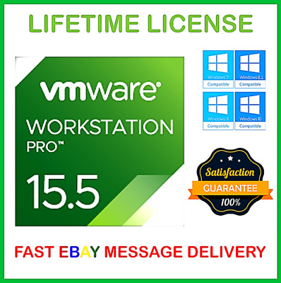 Vmware Workstation 15.5 Pro 🔑Lifetime Keys🔑Official 2019♕ 🔥 Fast Delivery🔥