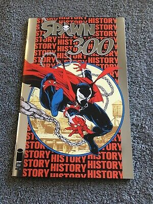 SPAWN #300 SILVER FOIL VARIANT NYCC 2019 LTD TO 1500 Todd McFarlane NM Image