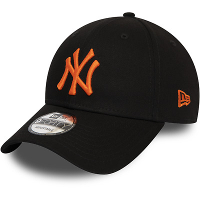 New Era New York Yankees Baseball Cap.9Forty Mlb Black League Essential Hat 9W2