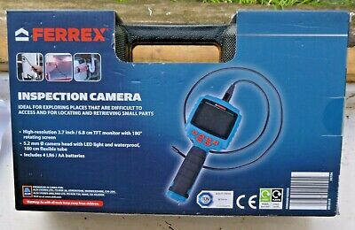 FERREX: INSPECTION CAMERA: For exploring hard to access places: Rrp over £38.00