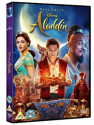 Aladdin DVD 2019 Release Will Smith Brand New Sealed Free Postage