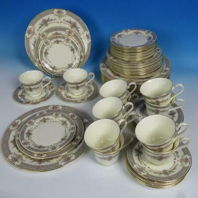 Minton Royal Doulton PERSIAN ROSE - 12 5pc Place Settings - Plates/Cup/Saucer