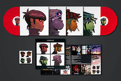 Gorillaz ‎– Demon Days VMP Club Edition Red Colored 2x Vinyl LP (PRESS DEFECT)