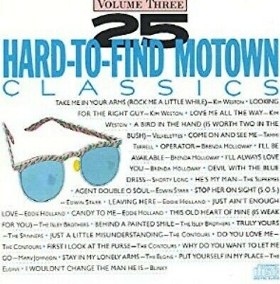 CD: 25 Hard To Find MOTOWN Classics Volume Three (3) NM