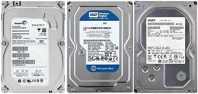 250Gb/500Gb Desktop Int PC HDD 3.5 SATA Hard Disk Drive-Seagate/WD/Hitachi