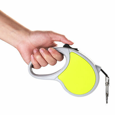 16ft Automatic Retractable Dog Leash Pet Collar Automatic Walking Lead 4 Colors