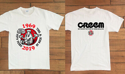 BOY HOWDY Creem Magazine Shirt GILDAN Cleveland Fifty Years Of Rock n/' Roll