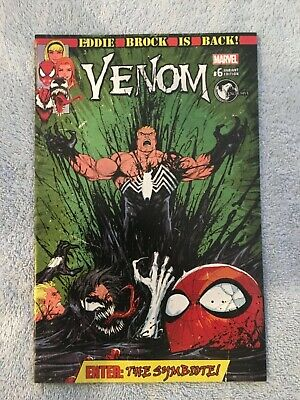 VENOM #6 (Marvel Comics) TYLER KIRKHAM VARIANT - Spiderman/Eddie Brock  NM