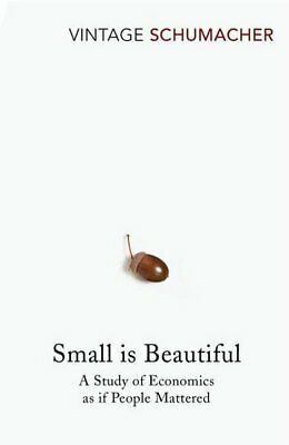 Small Is Beautiful A Study of Economics as if People Mattered 9780099225614