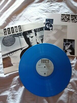 Sting from The Police Record lp-The Dream of the Blue Turtles - Blue Vinyl