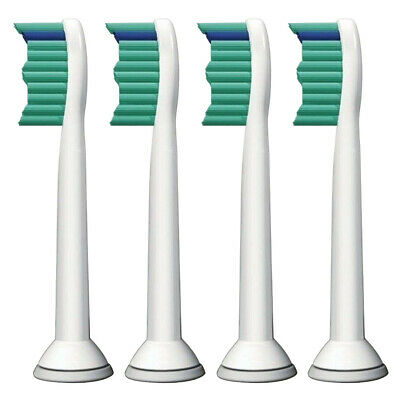 4Pcs Toothbrush Heads Compatible With For Philips Hx6013 Hx6011 Hx6530 Sonicare