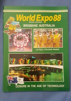 World Expo 88 Brisbane Australia Official Souvenir
