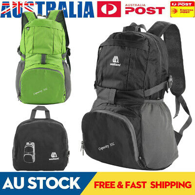Foldable Waterproof Outdoor Sports Backpack Camping Hiking Travel School Bag New