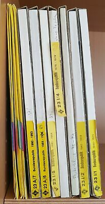 Leuchtturm Pre-printed Album Pages Frg Germany 1949-1999 Complete New No Bags