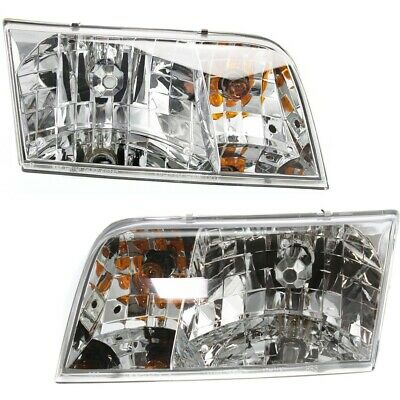 NEW LEFT /& RIGHT HEAD LIGHT FITS 1998-11 FORD CROWN VICTORIA FO2502200 FO2503200