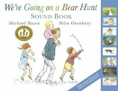 We're Going on a Bear Hunt by Michael Rosen 9781406357387 | Brand New