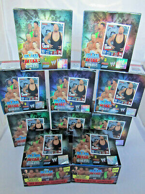 10 Boxes Slam Attax Rumble / 500 Packs / Topps / New Mint Boxes /RAW/Smack Down