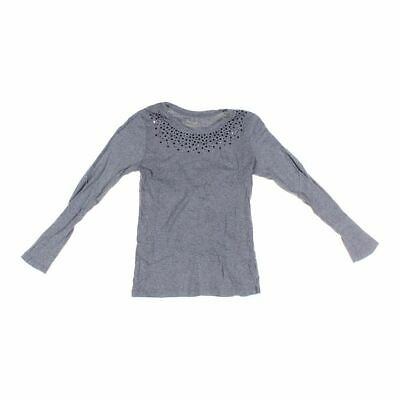 Faded Glory Girls Shirt size JR 3,  grey,  cotton