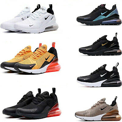 UK Womens Mens Air-Max 270 Running Shoes Casual Light Sport Trainer Sneakers