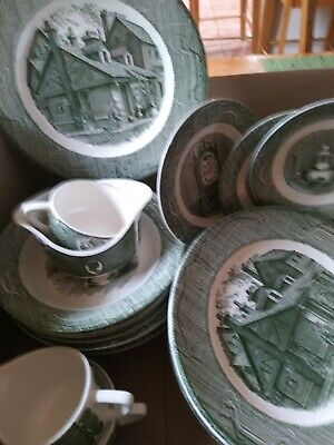 old curiosity shop green underglaze