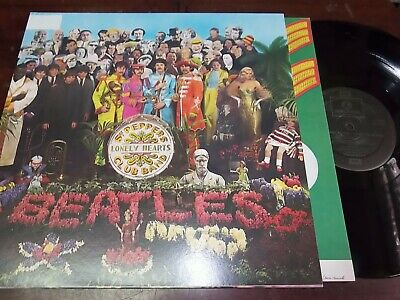 """THE BEATLES - Sgt. Pepper's Lonely Hearts Club Band, LP 12"""" UK GATEFOLD"""