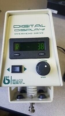 Bellco Digital Overhead Drive 5-150 RPM, W Power Adapter