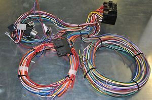 20 Circuit Wiring Harness Hot Street Rod Rat Rod Universal  Fits Ford Chevy