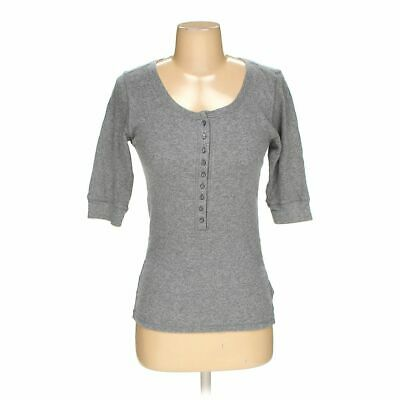 Faded Glory Women's  Shirt size S,  grey,  americana girl, basic,  cotton