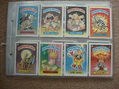 One Complete Set Trade Cards Topps Garbage Pail Kids Series 1 B.
