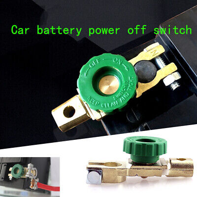 Car Battery Isolator Terminal Quick Cut-off Disconnect Shut Kill Switch 01