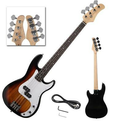 New Professional Golden 4-String Electric Bass Guitar