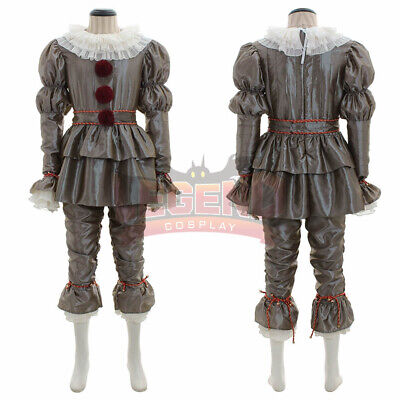 Movie It: Chapter Two Pennywise Cosplay Costume Clown Halloween Costumes Adult K