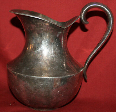 Vintage Silver Plated Pitcher Jug Ewer