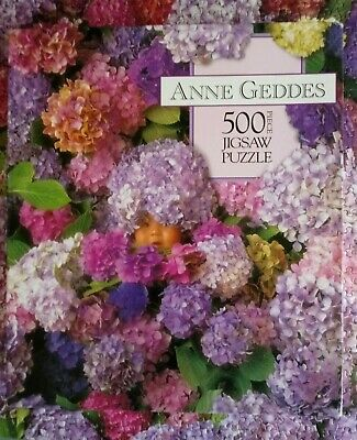 Anne Geddes Jigsaw puzzle 500 pieces Hydrangiss Babyiss