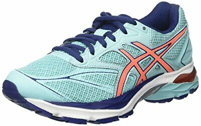 SCARPE ASICS GEL PULSE 9 RUNNING JOGGING donna blu royal