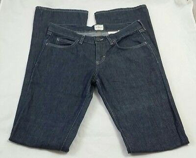Calvin Klein Womens Denim Low Rise Bootcut Jeans Size W28 Made in Italy
