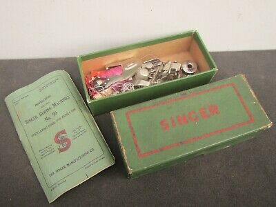 Vintage Singer 99k Sewing Machine Accessories