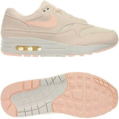 NIKE AIR MAX 1 PRM Damen low top Sneakers beigeweiß